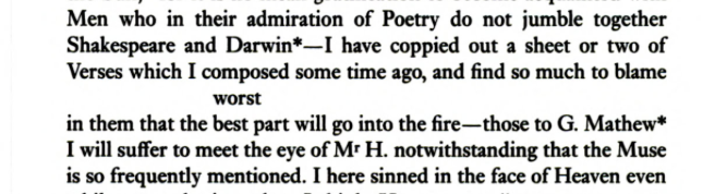 From Keats's Selected Letters (Oxford). Courtesy Google Books.